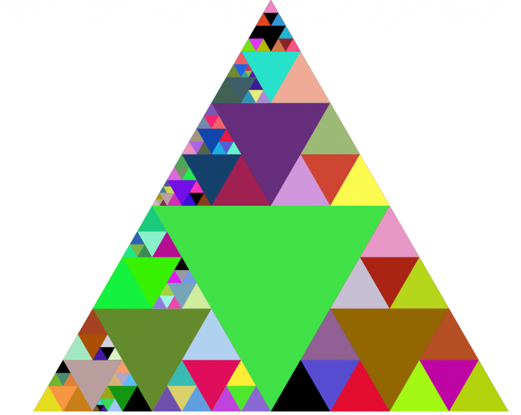 Zoomable sierpinski triangle - Tringle de penderie escamotable ...